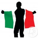 italia cape bandiera 90x150 cm