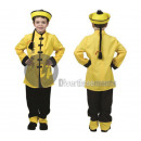 wholesale Costume Fashion: disguise of Chinese yellow child size 152cm