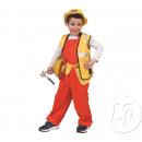 Bambino tuta arancione Dimensioni 116 centimetri