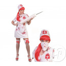 Nurse costume psychopath size s / m