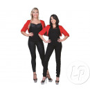Großhandel Röcke: Bolero Kunstpelz rot Damengröße uniqu