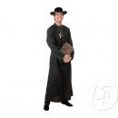 Großhandel Mäntel & Jacken: erwachsener schwarzer Priester Kostümgröße xxl