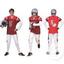 groothandel Sport & Vrije Tijd: volwassen voetbal kostuum Maat M /