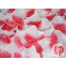 groothandel Home & Living: lot 500 met  rozenblaadjes donker roze en wit