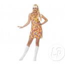 -Hippie-Blumen Kleidergröße M