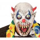Demonio máscara de látex para los niños
