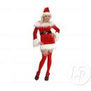 Mutter von Miss Santa Kostüm Weihnachten Größe L