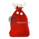 father christmas quality velvet bag 60x100 cm