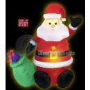 Mikołaj nadmuchiwany kaptur z lekkich 1m22