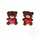 farcito amore cuore orso bruno
