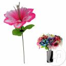 Artificial flower hibiscus 26cm