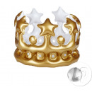 Inflatable crown 23cm mix