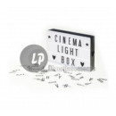 wholesale Business Equipment: light box  led's cinema with letters