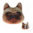wholesale Cushions & Blankets:Pillow Bulldog 19cm