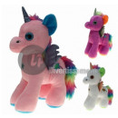 wholesale Children's Furniture: plush baby unicorn with fur 23cm mix