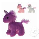 plush unicorn 12cm mix