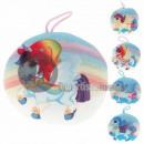 groothandel Kussens & Dekens: Kussen ronde eenhoornmix van 20 cm