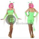 costume sexy alieno donna taglia m / l