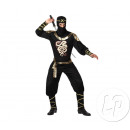 wholesale Coats & Jackets: disguise black ninja man size m / l