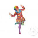 Großhandel Kleider: Verkleidung Kleid Frau Clown Größe xxl