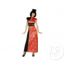 wholesale Costume Fashion: chinese dress black & red size xs / s