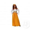 déguisement femme  servante médiévale taille xxl
