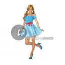 wholesale Skirts: rock costume 50's woman blue size xl