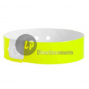 Bright yellow vinyl strap unmarked 19mm