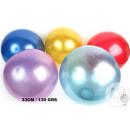 groothandel Ballen & clubs:pvc bal 33cm glitter