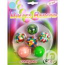 Großhandel Outdoor-Spielzeug: Lot mit 6 springenden Bällen 3.2cm