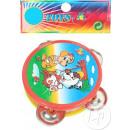 wholesale Music Instruments:plastic tambourine 6cm