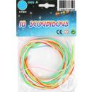 scoubidous 10 fili 80 centimetri
