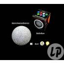 grossiste Affichages et panneaux publicitaires: lampe boule  lumineuse eva 7 couleurs 8cm