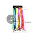 silicone bike chain with carabiner 44cm m
