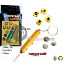 grossiste Mobilier de bureau: porte-clefs  pointeur laser 7cm + 5 embouts