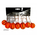 keyrings Kugel 4cm Basketball