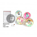 bouncy ball unicorn mix 3cm