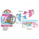 wholesale Business Equipment: unicorn styro plane pink / blue 17cm