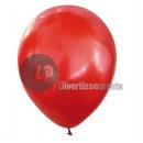 Veel 100 latex ballonnen 40cm rood metallic