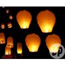 groothandel Windlichten & lantaarns: vliegende hemelse  lantaarn brander al ingesteld WH