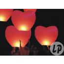Großhandel Windlichter & Laternen: Chinesische  fliegende Laterne rotes Herz