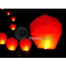 Chinese vliegende lantaarn brander al ingesteld ro