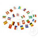 ghirlanda rettangolare 24 bandiere EURO 2016