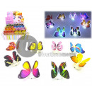 butterfly led bright flashing adhesive mix 8cm