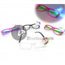Großhandel Brillen: Gläser mit Einhorn Licht LED-Mix
