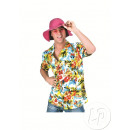 wholesale Shirts & Blouses: tahiti Hawaiian shirt multicolor clear size l-xl