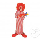 wholesale Nightwear: shirt clown  disguise night child size 14