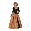 BAROQUE dress Marie-Christina ORANGE woman Size S