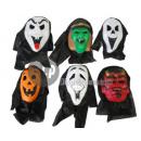 Halloween Mask with Hood