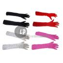Großhandel Handschuhe: Paar lange Handschuhe lila